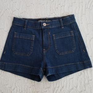 Express Highwaisted Jean Shirts